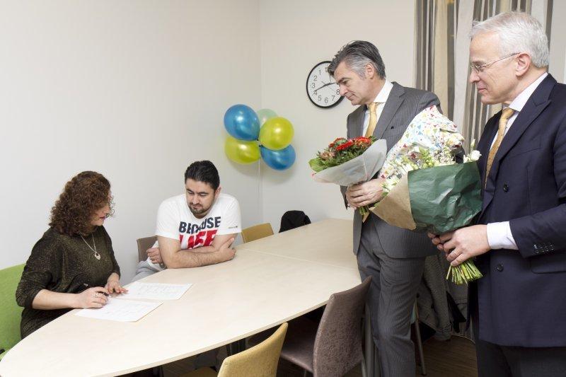 Eerste aangifte geboorteloket Ikazia Ziekenhuis Rotterdam