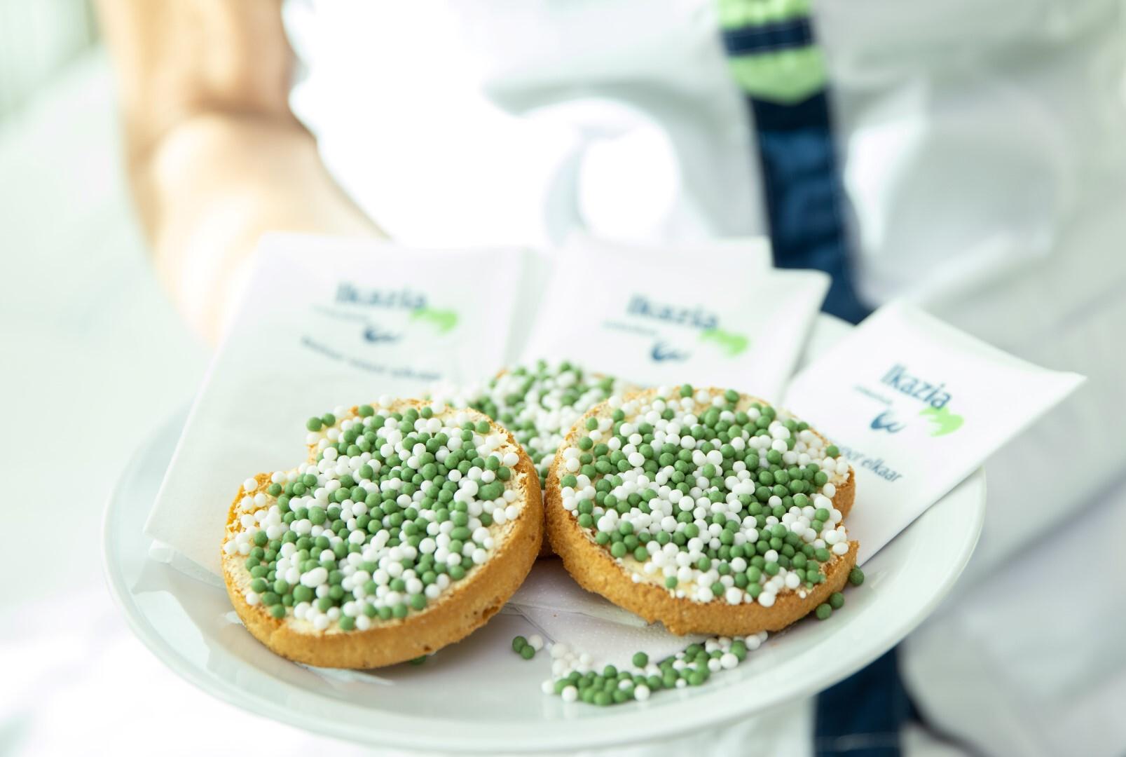 Ikazia trakteert als eerste Rotterdamse ziekenhuis op groen-witte muisjes
